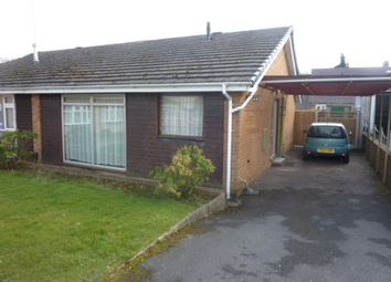 Thumbnail 2 bed semi-detached bungalow to rent in Vicarage Drive, Chaddesden