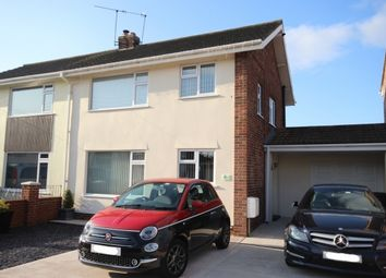 Thumbnail 3 bed semi-detached house for sale in Somerset Road, Bridgwater