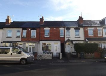 Thumbnail 2 bed terraced house for sale in Cemetery Road, Smethwick, West Midlands