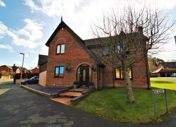 Thumbnail 4 bed detached house for sale in Ffordd Newydd, Mold
