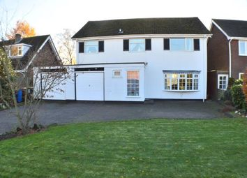 Thumbnail 4 bed detached house for sale in Alrewas Road, Kings Bromley, Staffordshire
