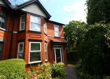 Thumbnail 3 bed semi-detached house to rent in Central Avenue, Levenshulme, Manchester