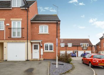 Thumbnail 2 bedroom town house for sale in Threadcutters Way, Shepshed, Loughborough