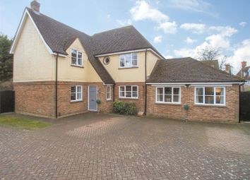 Thumbnail 4 bed detached house for sale in Mercers Avenue, Bishop's Stortford
