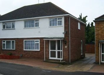 Thumbnail 3 bed semi-detached house to rent in Hayhurst Rd, Luton