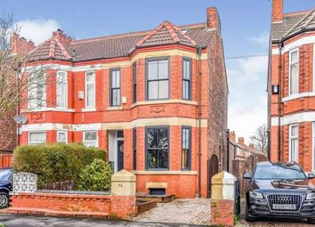 Thumbnail 5 bed semi-detached house for sale in Clarendon Road West, Chorlton, Manchester, Greater Manchester