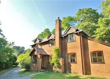 Thumbnail 3 bed detached house to rent in Firgrove Road, Eversley, Hook