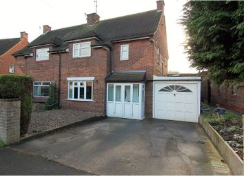 Thumbnail 3 bed semi-detached house for sale in Spinney Close, West Bridgford
