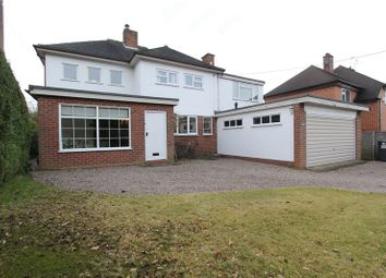 Thumbnail 4 bed detached house for sale in Butterton, Newcastle-Under-Lyme