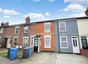 Thumbnail 2 bed terraced house for sale in Ranelagh Road, Ipswich
