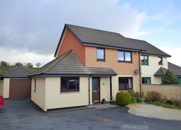 Thumbnail 4 bedroom semi-detached house for sale in Foxes Lair, Okehampton