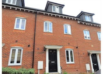Thumbnail 3 bed terraced house for sale in Silver Streak Way, Rochester