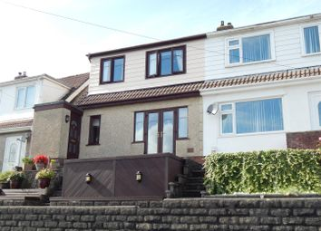 Thumbnail 3 bedroom semi-detached house for sale in Trewyddfa Road, Morriston, Swansea