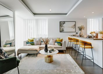Thumbnail 3 bed flat for sale in Paddington Gardens, North Wharf Road