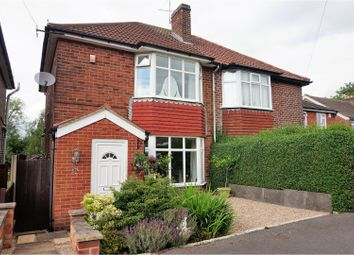 Thumbnail 2 bed semi-detached house for sale in Grove Road, Whitwick