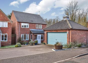 Thumbnail 4 bed detached house for sale in Clover Way, Fakenham