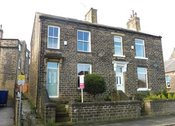 Thumbnail 2 bed semi-detached house for sale in School Street, Greetland, Halifax