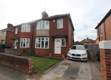 Thumbnail 3 bed semi-detached house for sale in Springwell Terrace, Darlington