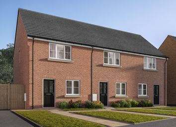 """Thumbnail 2 bed terraced house for sale in """"The Harcourt"""" at Amos Drive, Pocklington, York"""