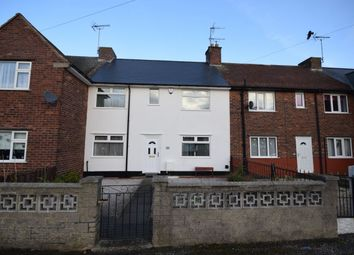 Thumbnail 3 bed terraced house for sale in Thoresby Crescent, Stanton Hill, Sutton-In-Ashfield