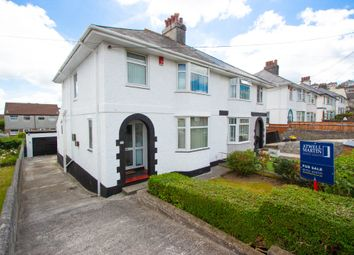 Thumbnail 3 bed semi-detached house for sale in Windsor Road, Higher Compton, Plymouth