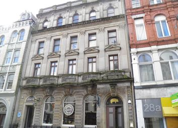 Thumbnail 1 bed property to rent in High Street, City Centre, Cardiff