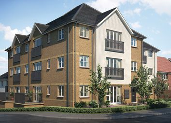 "Thumbnail 2 bed flat for sale in ""Hodges House"" at Burns Way, Holmbush Potteries Estate, Faygate, Horsham"