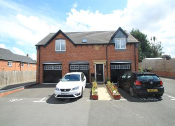 Thumbnail 2 bed flat for sale in Crimson Way, Burbage, Hinckley