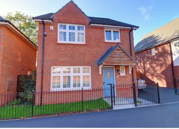 Thumbnail 4 bed detached house for sale in Kingsley Avenue, Manchester