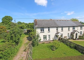 Thumbnail 3 bed semi-detached house for sale in Lockshallis Cottages, Sampford Peverell, Tiverton