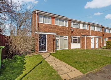 Thumbnail 3 bed end terrace house for sale in Edward Road, Eynesbury, St. Neots