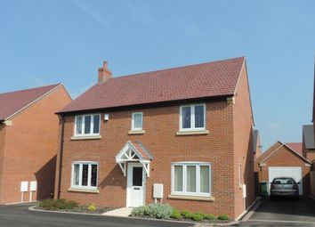 Thumbnail 4 bed property to rent in Marigold Close, Lutterworth
