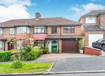Thumbnail 4 bed semi-detached house for sale in Buttermere Gardens, Purley, Surrey