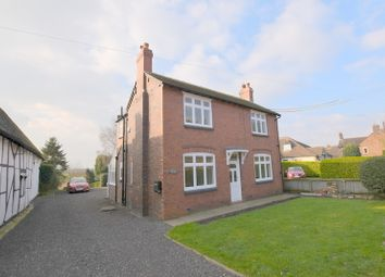Thumbnail 3 bedroom detached house to rent in Main Road, Betley, Cheshire
