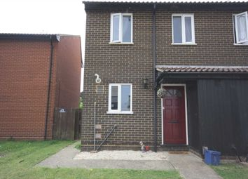 Thumbnail 3 bed semi-detached house to rent in Bowbank Close, Shoeburyness, Southend-On-Sea