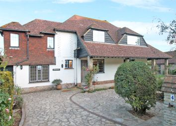 Thumbnail 4 bed detached house for sale in The Roundway, Rustington, West Sussex