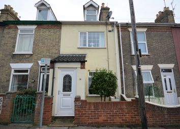 Thumbnail 3 bed terraced house for sale in Princes Road, Lowestoft