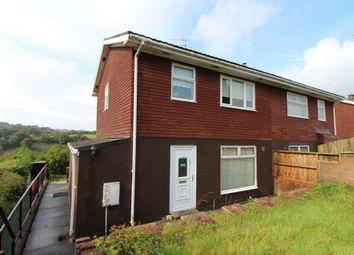 Thumbnail 3 bed semi-detached house for sale in Keir Hardie Terrace, Swffryd, Crumlin