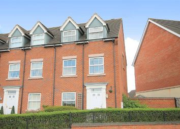 Thumbnail 4 bed town house to rent in Oak Drive, Mile Oak, Tamworth, Staffordshire