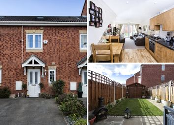 Thumbnail 3 bed terraced house for sale in Spring Place Court, Mirfield, West Yorkshire