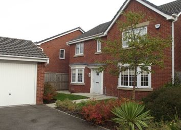 Thumbnail 4 bed detached house to rent in Kerscott Close, Ince, Wigan