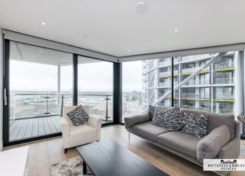 Thumbnail 1 bed flat for sale in Riverlight Quay, London