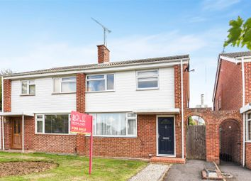 Thumbnail 3 bed semi-detached house for sale in Meadow Way, Wokingham, Berkshire