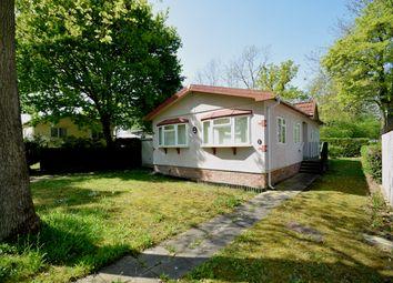 Thumbnail 2 bed mobile/park home for sale in Shepherds Grove Park, Stanton, Bury St. Edmunds