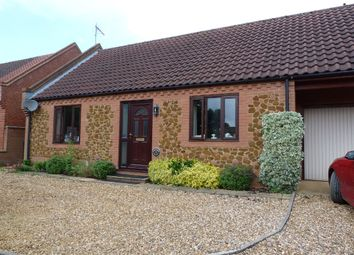 Thumbnail 2 bedroom detached bungalow for sale in Heacham Road, Sedgeford, Hunstanton