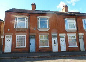 Thumbnail 2 bedroom terraced house for sale in Sandhurst Street, Oadby, Leicester