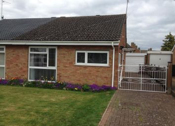 Thumbnail 2 bed semi-detached bungalow to rent in Glebe Close, Holcot, Northampton