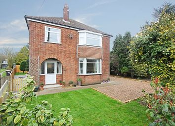 Thumbnail 3 bed detached house for sale in Station Road, Ulceby