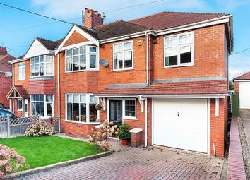 Thumbnail 4 bed semi-detached house for sale in Portland Drive, Scholar Green, Stoke-On-Trent