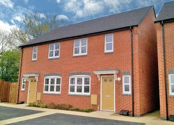 Thumbnail 2 bed town house for sale in Taylor Drive, Sileby, Loughborough, Leicestershire